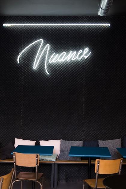Le style cosy & industriel de chez Nuance Café.