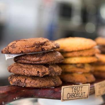 Le cookie tout chocolat