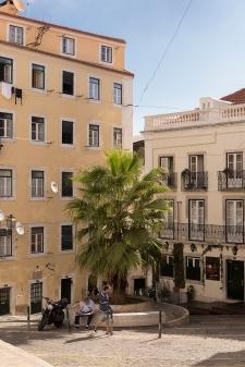 Au coeur de l'Alfama, le plus vieux quartier de Lisbonne.