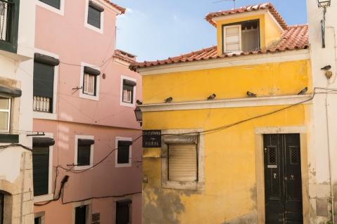 Les façades colorées de Lisbonne