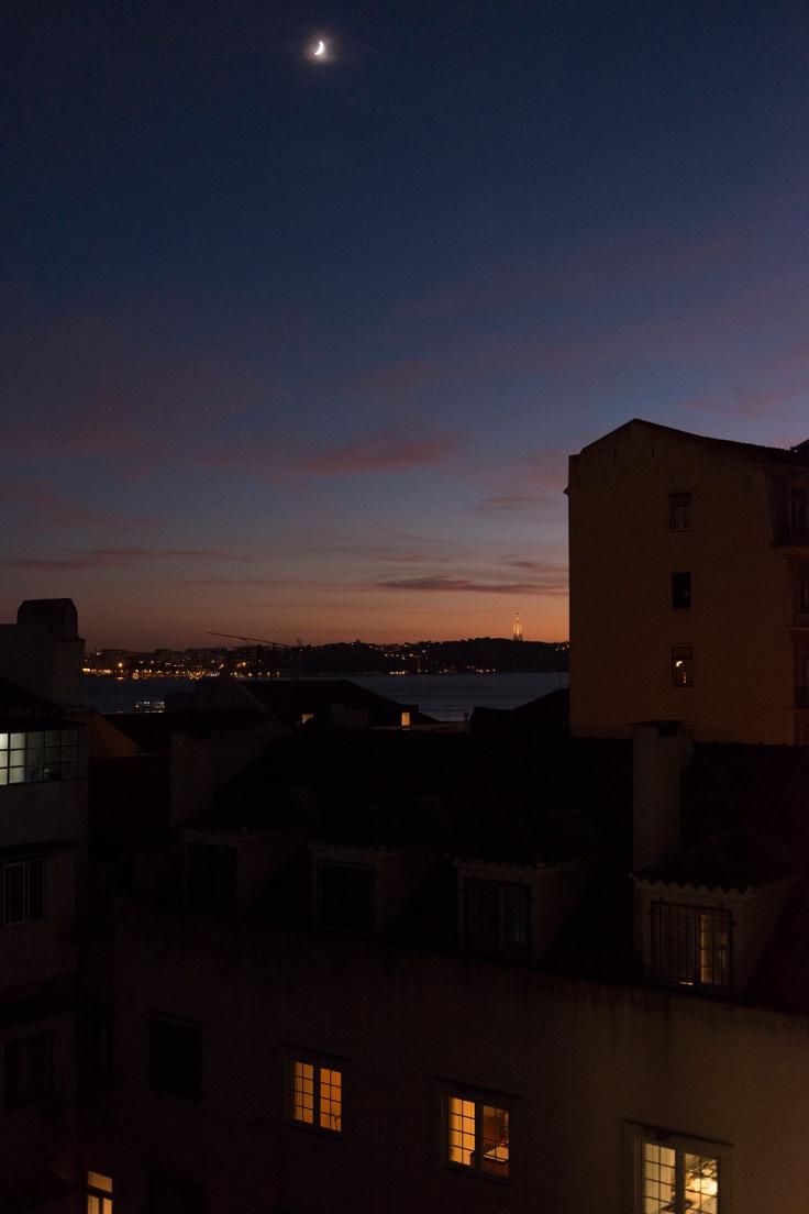 La vue sur le Cristo Rei depuis le Memmo Alfama Hotel.