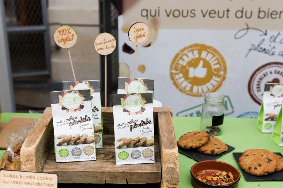 Biscuits à la purée de pois chiches chez Lalou biscuits
