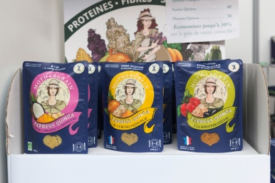 Les quinoa express de Mother Grain à la Veggie World Paris 2018