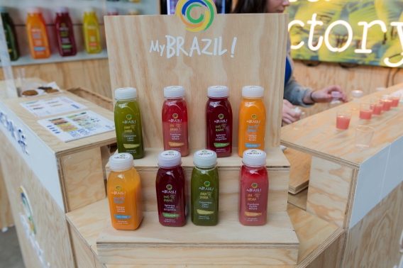 Les jus de My Brazil sont à la Veggie World Paris !