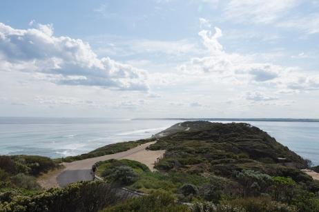 Le dernier morceau de terre qui constitue la péninsule de Mornington.