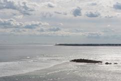 Vue sur la baie et celle de Port Phillip au loin.