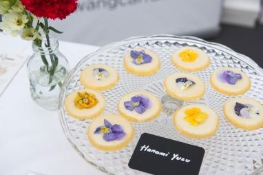 Les Hanami Cookies au Yuzu de Jean Hwang Carrant.