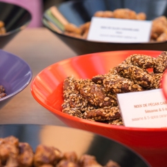 Les bonnes noix de pécan caramélisées de chez Esprit Gourmand.