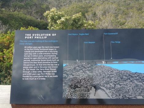 L'évolution de Port Phillip.