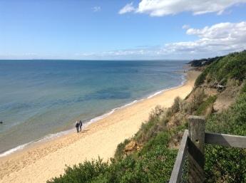 La plage de Mount Eliza.