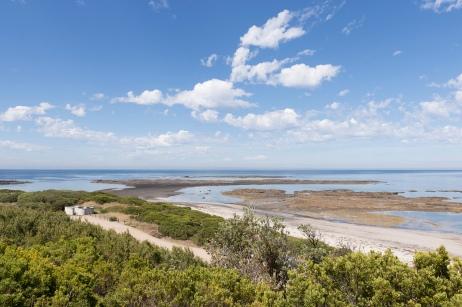 Vous pouvez aussi plonger dans le Mushroom Reef Marine Sanctuary dans le Parc National de la péninsule de Mornington.