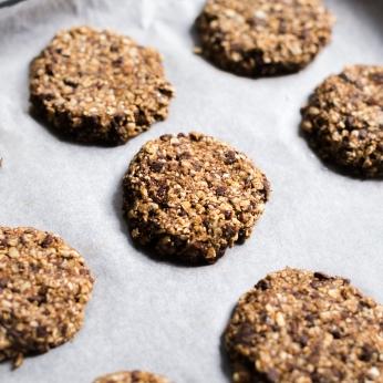 Les granola cookies vus de près, miam miam .... !