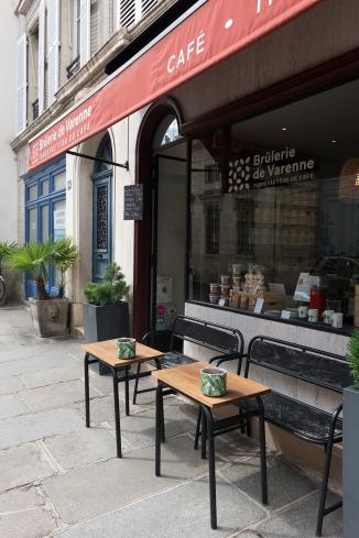 Venez vous installer à la Brûlerie de Varenne. Un café en terrasse ne se refuse jamais !