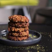 Les granola cookies sont sains, rassasiants et gourmands.