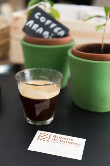 Le café, de la plante à la tasse, à découvrir à la Brûlerie de Varenne.
