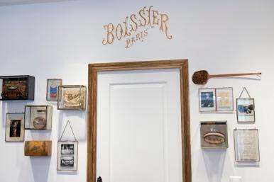 Découverte de la boutique Boissier rue du Bac.