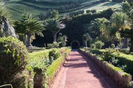 Jardin de Ponta do Sossego à Nordeste.