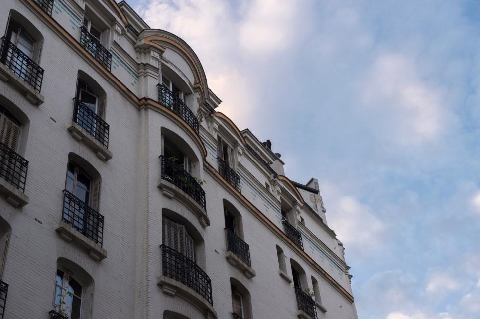Ciel de Paris.