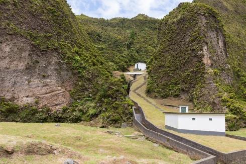 Sur le chemin menant au Lagoa do Fogo.
