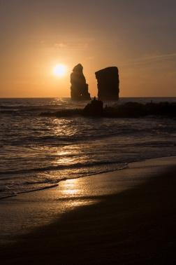 Coucher de soleil à Mosteiros