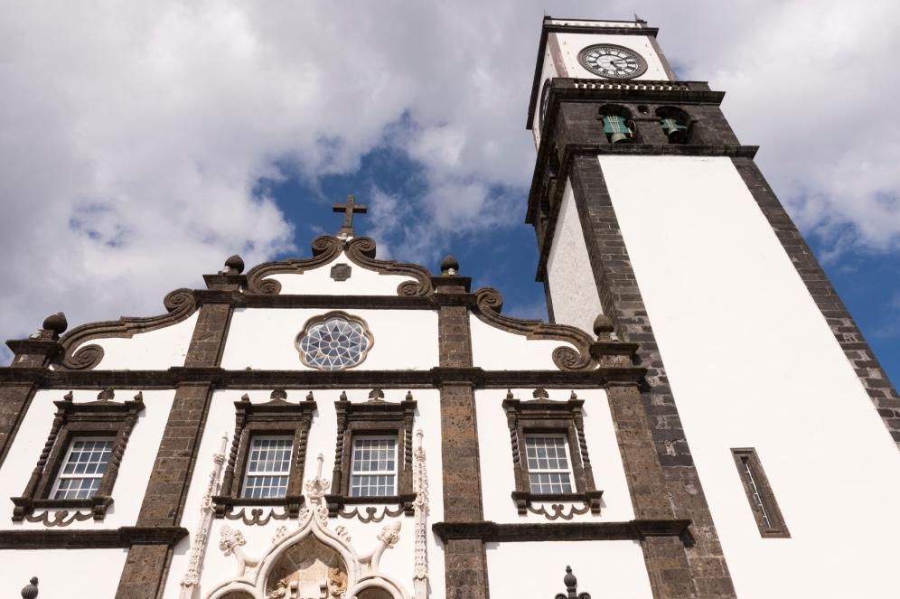 Église à Ponta Delgada.