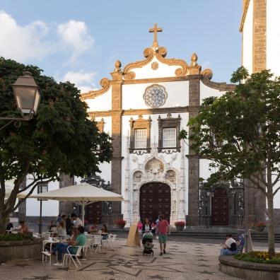 Église São Sebastião à Ponta Delgada dans les Açores.