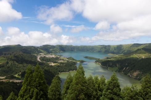 Les 7 Cités, un paysage connu des Açores.