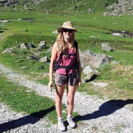 Randonnée dans les Pyrénées.