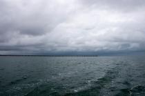 La jetée de Bribie Island.