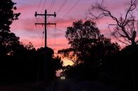 Coucher de soleil à Mount Eliza, Australie.