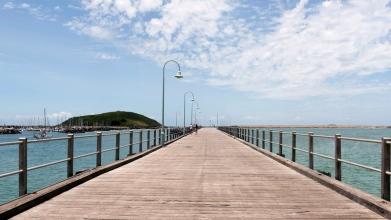 Jetée de Coffs Harbour, Australie.