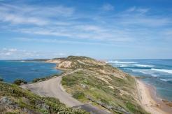 Point Nepean Road, Australie.