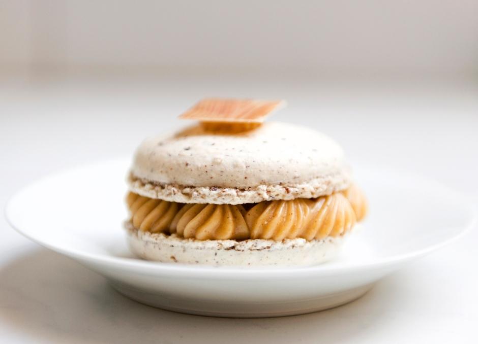 Macaron praliné, Carl Chocolatier, St Dié des Vosges.