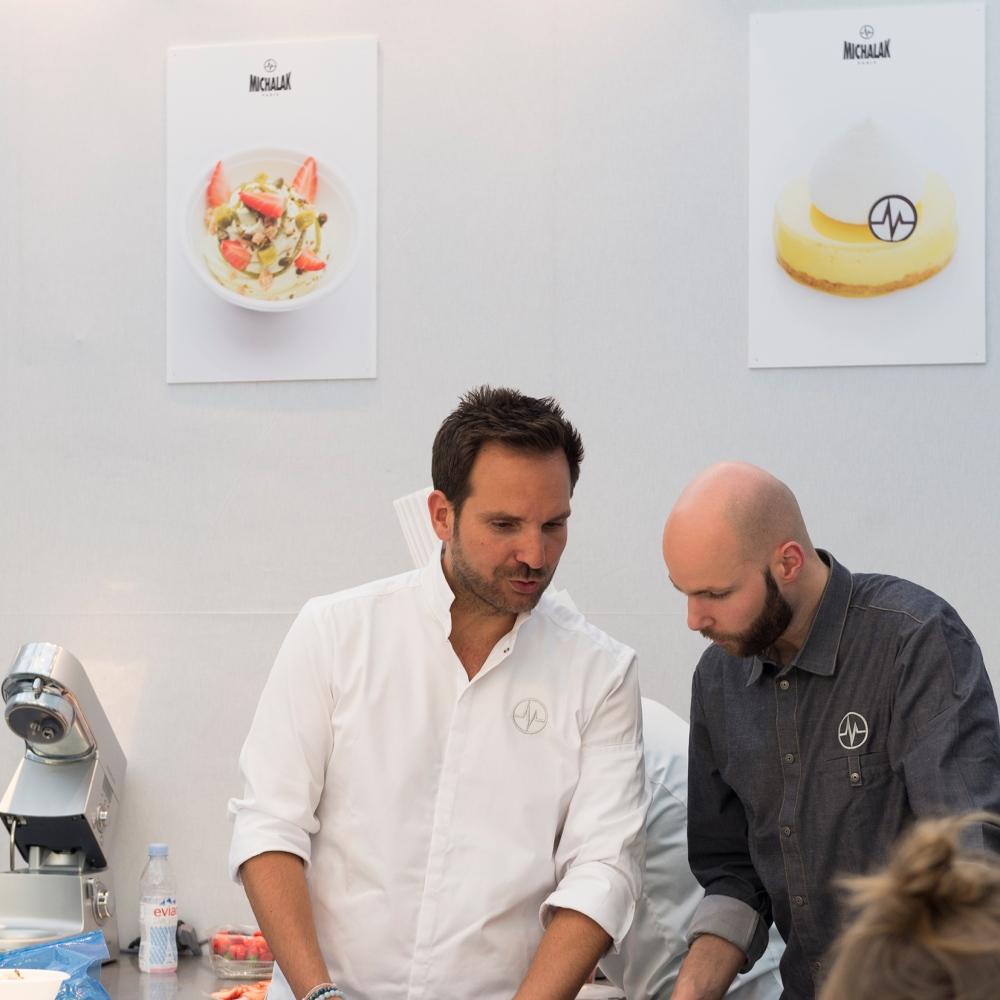 Photo du chef Christophe Michalak au festival Taste of Paris.