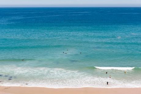 Gunnamatta, plage de surfeur en Australie.