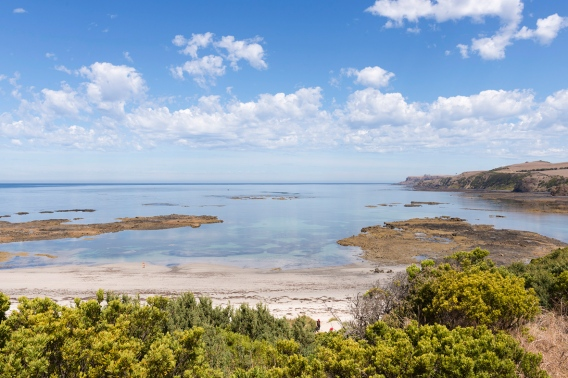 Parc National de la Péninsule de Mornington en Australie.