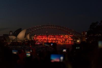 Sydney, New Year's Eve.