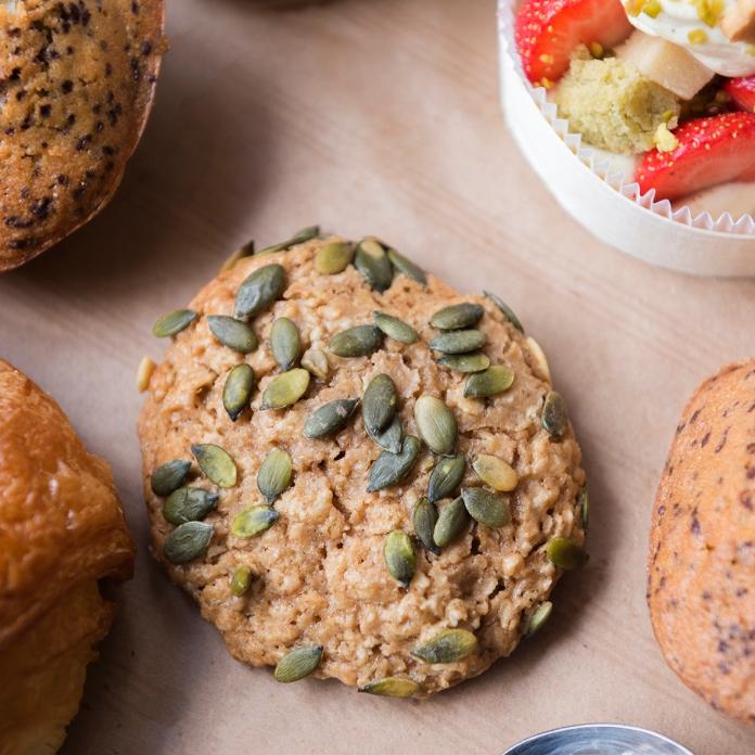 Cookie avoine et graines de courges Benoît Castel