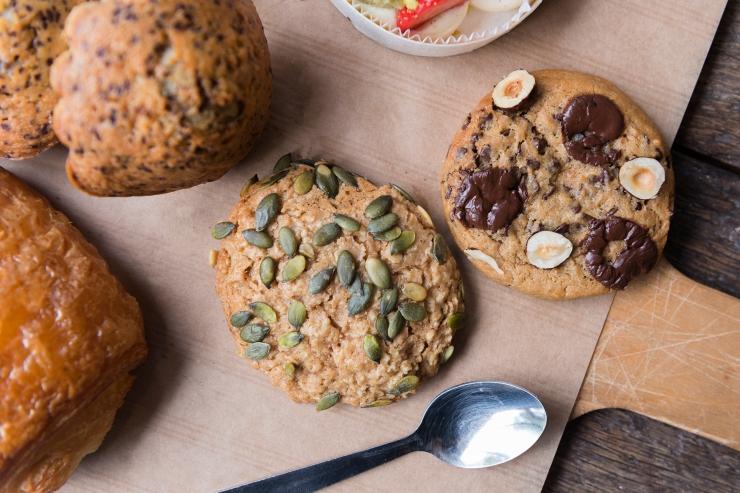 Cookies, Benoît Castel, petit-déj, goûter