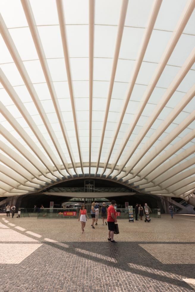 Gare d'Oriente, Lisbonne, Portugal.
