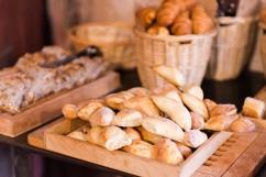 Le bon pain frais.