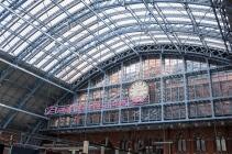 St Pancras Station London.