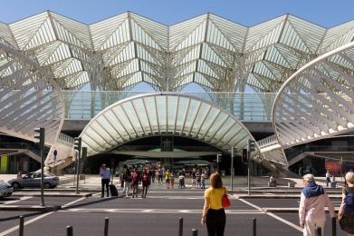 Gare d'Oriente, Lisbonne, Portugal, 2017.