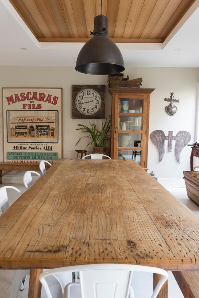 Photographie d'une salle à manger en Australie.