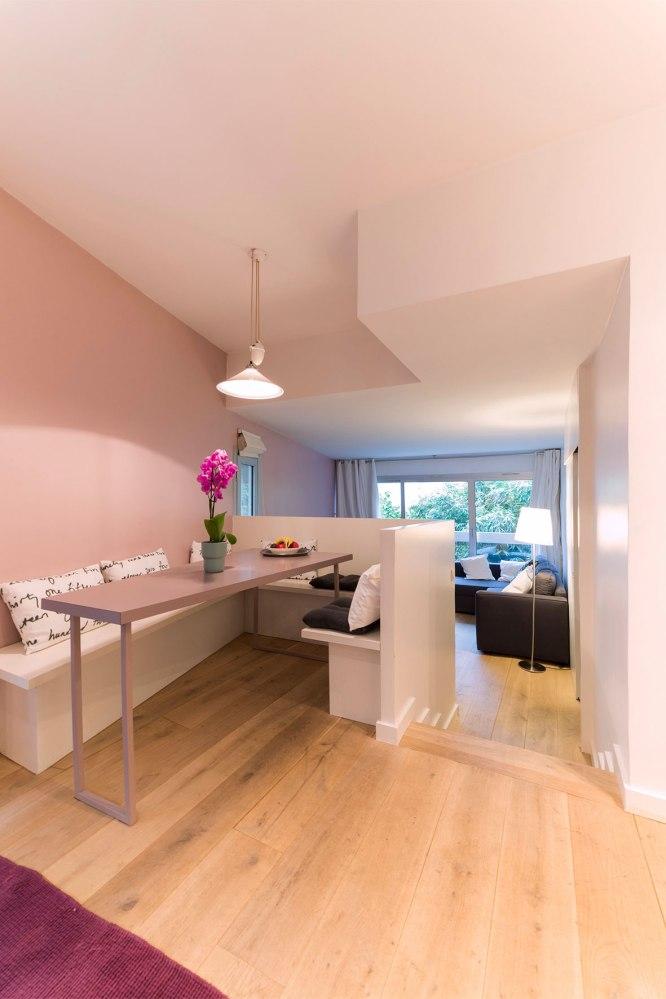 Photo d'une cuisine d'une habitation pour agence immobilière.