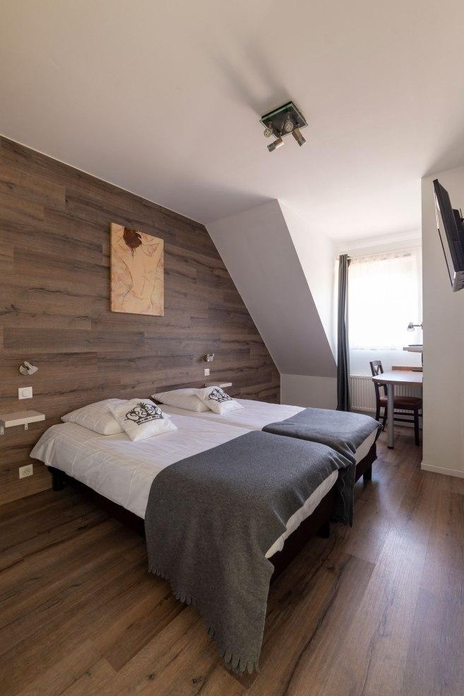 Photographie pour l'hôtel La Couronne en Alsace.