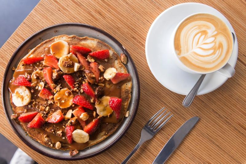 Pancake Nuance Café Paris.