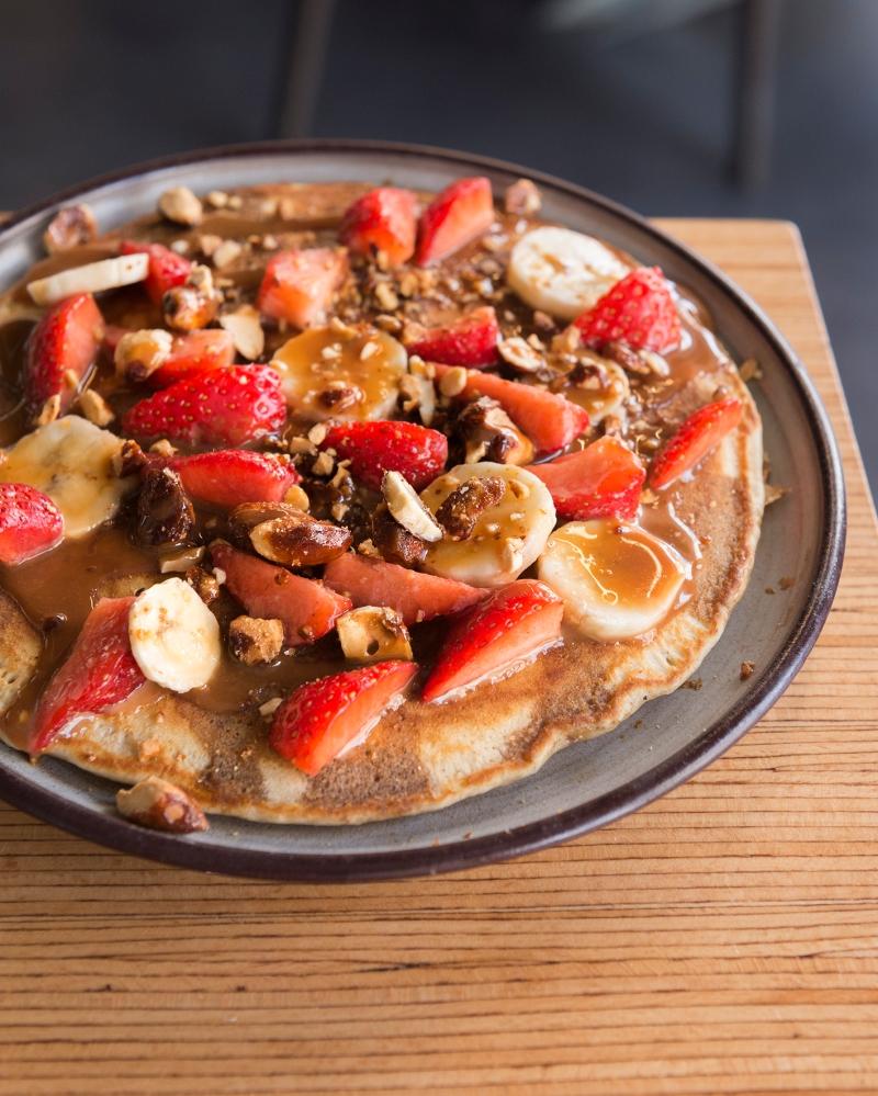 Pancakes aux fruits d'été