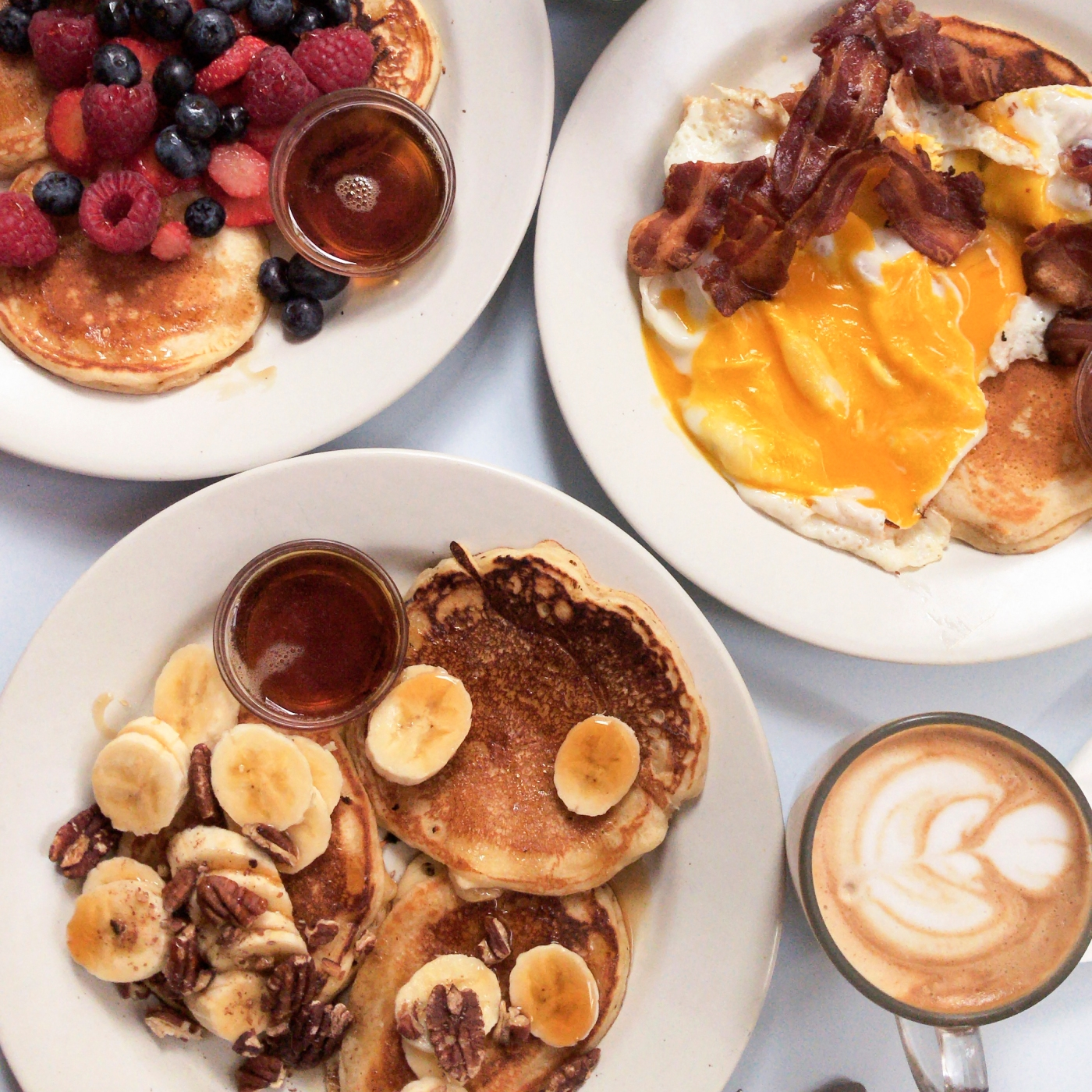 Pancakes Passager Café Paris.