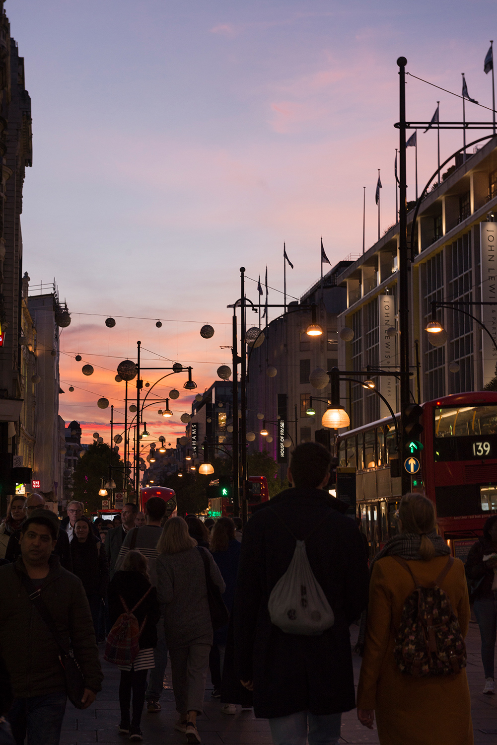 Oxford Street, Londres.